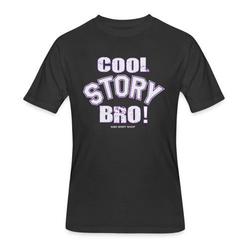 Cool Story Bro - Mens T-shirt - Men's 50/50 T-Shirt