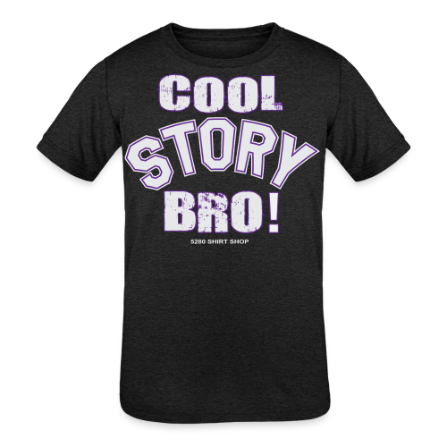 Cool Story Bro - Mens T-shirt - Kids' Tri-Blend T-Shirt