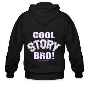 Cool Story Bro - Mens T-shirt - Men's Zip Hoodie