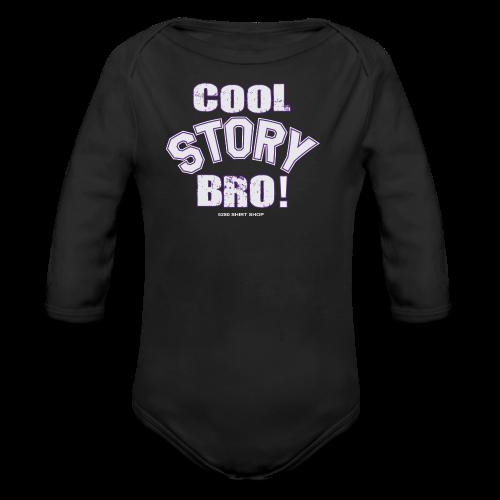 Cool Story Bro - Mens T-shirt - Organic Long Sleeve Baby Bodysuit
