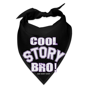 Cool Story Bro - Mens T-shirt - Bandana