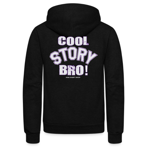 Cool Story Bro - Mens T-shirt - Unisex Fleece Zip Hoodie
