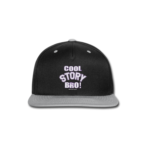 Cool Story Bro - Mens T-shirt - Snap-back Baseball Cap
