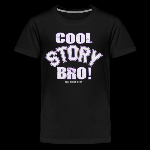 Cool Story Bro - Mens T-shirt - Kids' Premium T-Shirt