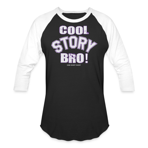 Cool Story Bro - Mens T-shirt - Baseball T-Shirt