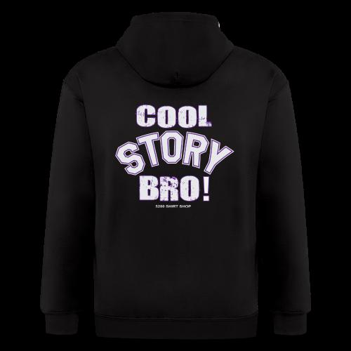 Cool Story Bro - Hoodie - Men's Zip Hoodie