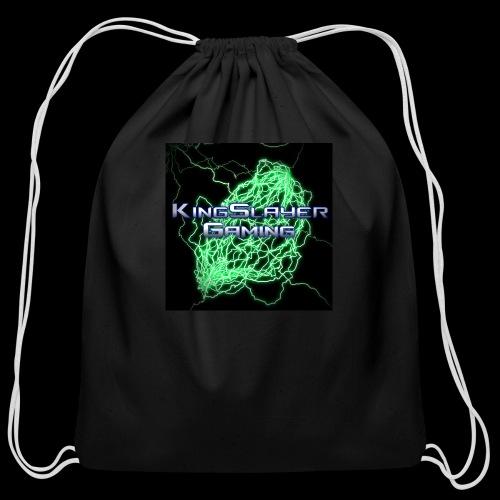 KingSlayer Logo - Cotton Drawstring Bag