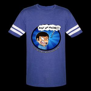 Men's SHUT UP PHONE!!! Shirt - Vintage Sport T-Shirt
