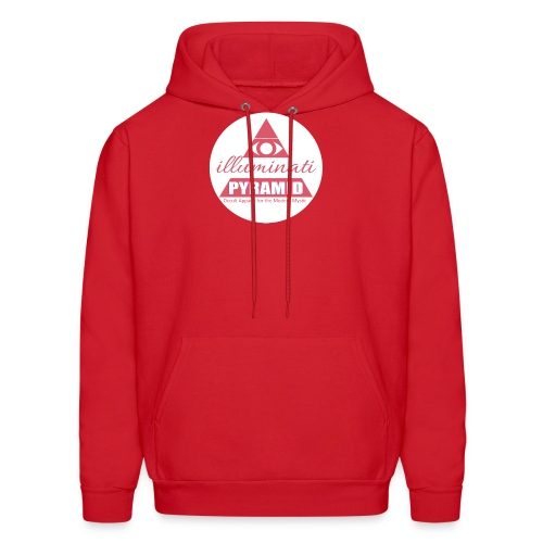 Red Pyramid - Men's Hoodie