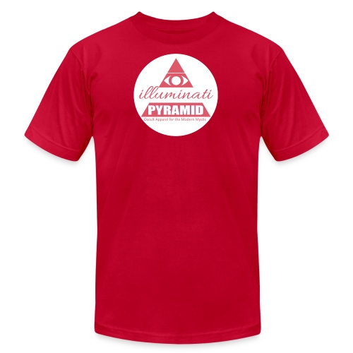 Red Pyramid - Men's  Jersey T-Shirt