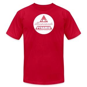 Red Pyramid - Men's Fine Jersey T-Shirt