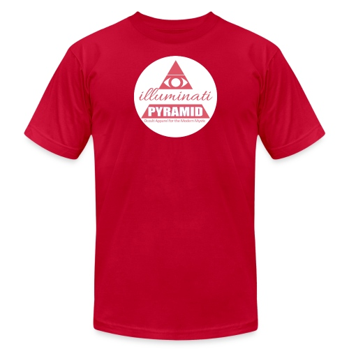 Red Pyramid - Men's Fine Jersey T-Shirt