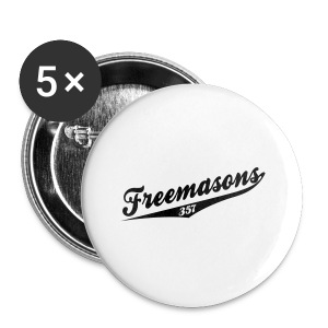 FREEMASONS 357 - Small Buttons