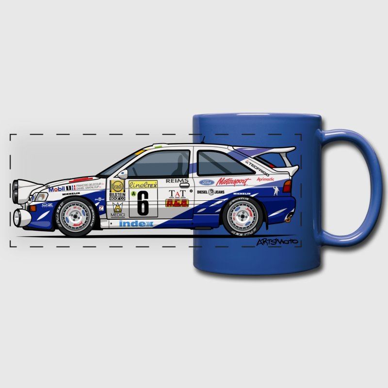 Ford Escort RS Cosworth Rally Monte Carlo Mugs & Drinkware - Full Color Panoramic Mug