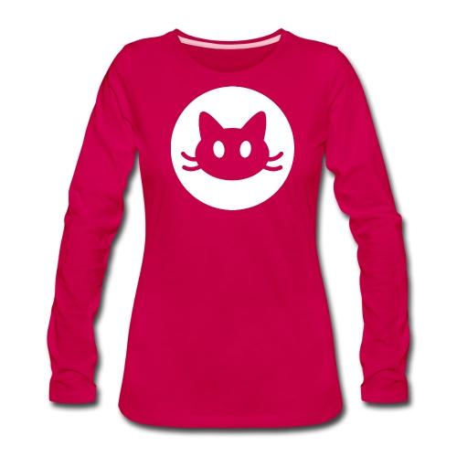 Sweet cat face - Women's Premium Long Sleeve T-Shirt