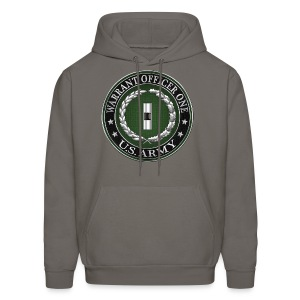 U.S. Army Warrant Officer One (WO1) Rank Insignia  - Men's Hoodie