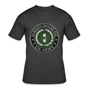 U.S. Army Warrant Officer One (WO1) Rank Insignia  - Men's 50/50 T-Shirt