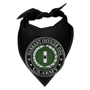 U.S. Army Warrant Officer One (WO1) Rank Insignia  - Bandana