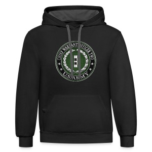 U.S. Army Chief Warrant Officer Two (CW2)  - Contrast Hoodie