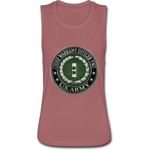 U.S. Army Chief Warrant Officer Two (CW2)  - Women's Flowy Muscle Tank by Bella