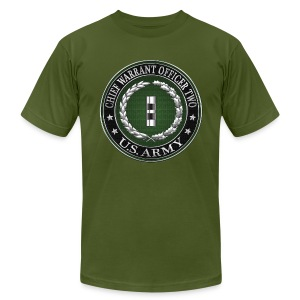 U.S. Army Chief Warrant Officer Two (CW2)  - Men's T-Shirt by American Apparel