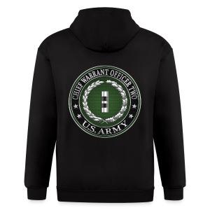 U.S. Army Chief Warrant Officer Two (CW2)  - Men's Zip Hoodie