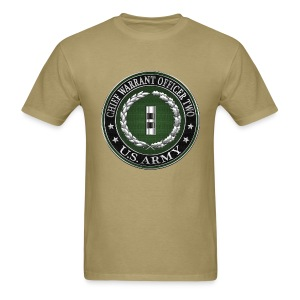 U.S. Army Chief Warrant Officer Two (CW2)  - Men's T-Shirt