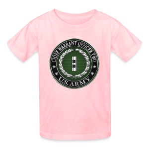 U.S. Army Chief Warrant Officer Two (CW2)  - Kids' T-Shirt