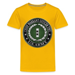 U.S. Army Chief Warrant Officer Two (CW2)  - Kids' Premium T-Shirt