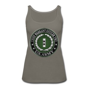 U.S. Army Chief Warrant Officer Two (CW2)  - Women's Premium Tank Top