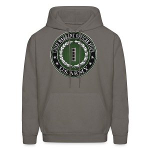 Chief Warrant Officer Four (CW4) Rank Insignia  - Men's Hoodie