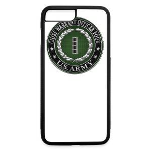 Chief Warrant Officer Four (CW4) Rank Insignia  - iPhone 7 Plus Rubber Case