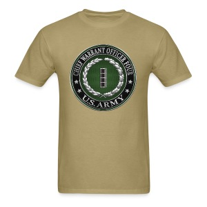 Chief Warrant Officer Four (CW4) Rank Insignia  - Men's T-Shirt