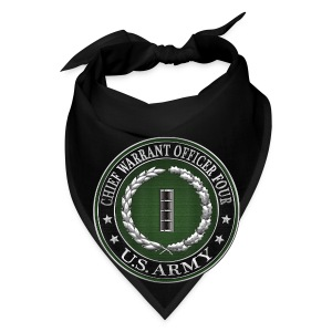 Chief Warrant Officer Four (CW4) Rank Insignia  - Bandana