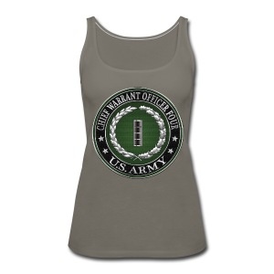 Chief Warrant Officer Four (CW4) Rank Insignia  - Women's Premium Tank Top