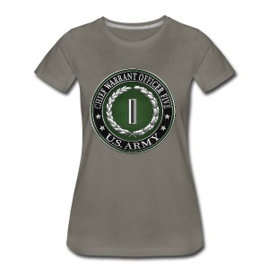 Chief Warrant Officer Five (CW5) Rank Insignia - Women's Premium T-Shirt
