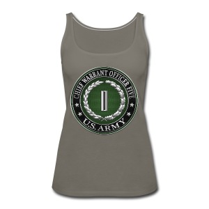 Chief Warrant Officer Five (CW5) Rank Insignia - Women's Premium Tank Top