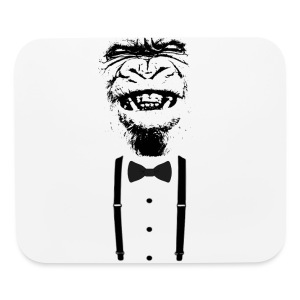 Gorilla with a bow tie (2) - Mouse pad Horizontal