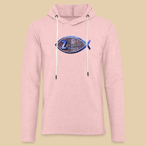 Rustic Logo for YouTuber:Zebco Rod Off Grid &Zevco - Unisex Lightweight Terry Hoodie