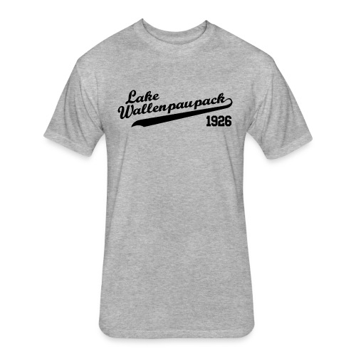 Lake Wallenpaupack Tee - Fitted Cotton/Poly T-Shirt by Next Level