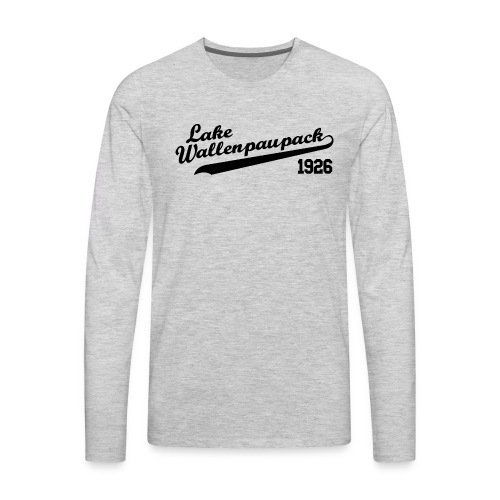 Lake Wallenpaupack Tee - Men's Premium Long Sleeve T-Shirt