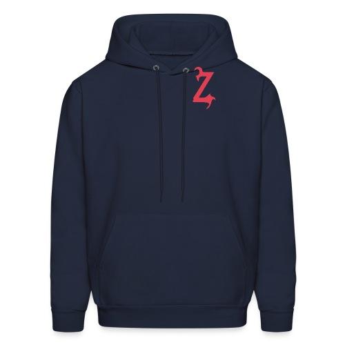 Zilum Red Logo Sleeve - Men's Hoodie