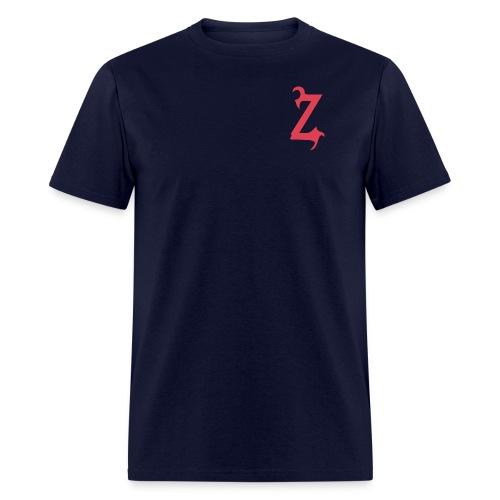 Zilum Red Logo Sleeve - Men's T-Shirt