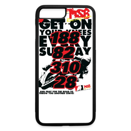 Get On Your Knees Every Sunday - Black Text - iPhone 7 Plus/8 Plus Rubber Case