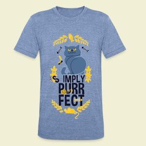 Purrfect - Unisex Tri-Blend T-Shirt
