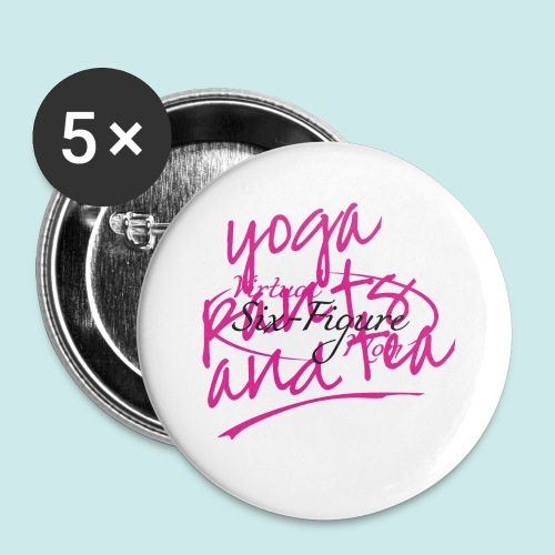 Yoga Pants and Tea Mug - Small Buttons