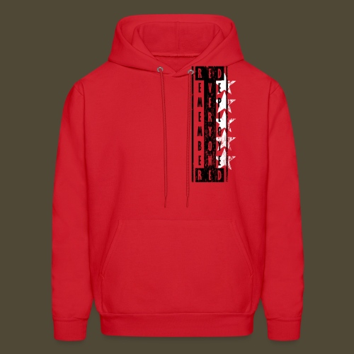 5-Star R.E.D. Front And Back - Men's Hoodie