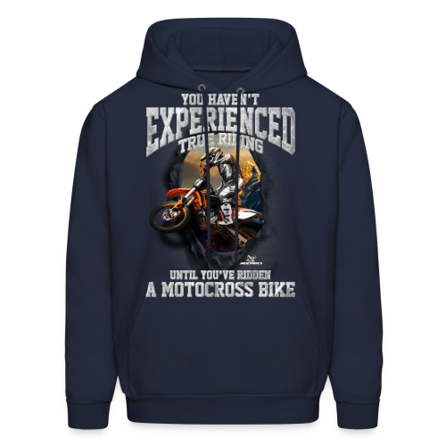True Riding Motocross - Men's Hoodie
