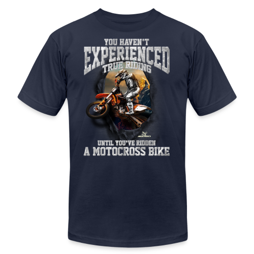 True Riding Motocross - Men's  Jersey T-Shirt