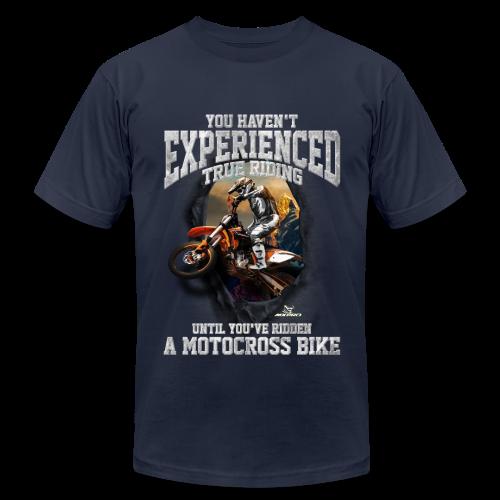True Riding Motocross - Men's Fine Jersey T-Shirt
